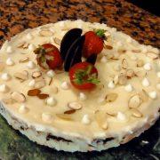 торта маскарпоне и бял шоколад