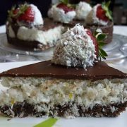 кокосова торта без брашно