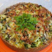 тарт с броколи