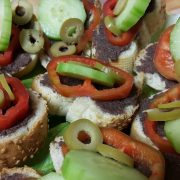 брускети с маслинова паста