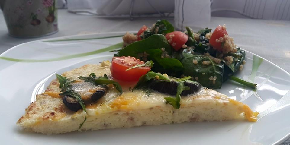 здравословна пица