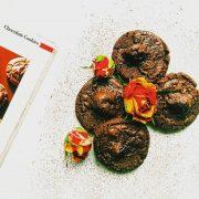 шоколадови бисквити с вишни